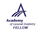 Perry Frydman DDS FAGD, Fellow Academy of General Dentistry
