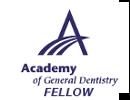 Perry Frydman DDS FAGD, Fellow Academy of General Dentistry